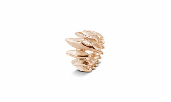 Bonnet Feu ring 18ct rose gold