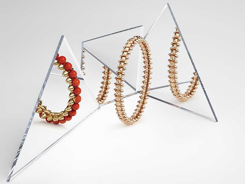 Cartier - Bracelets issus de la collection Clash
