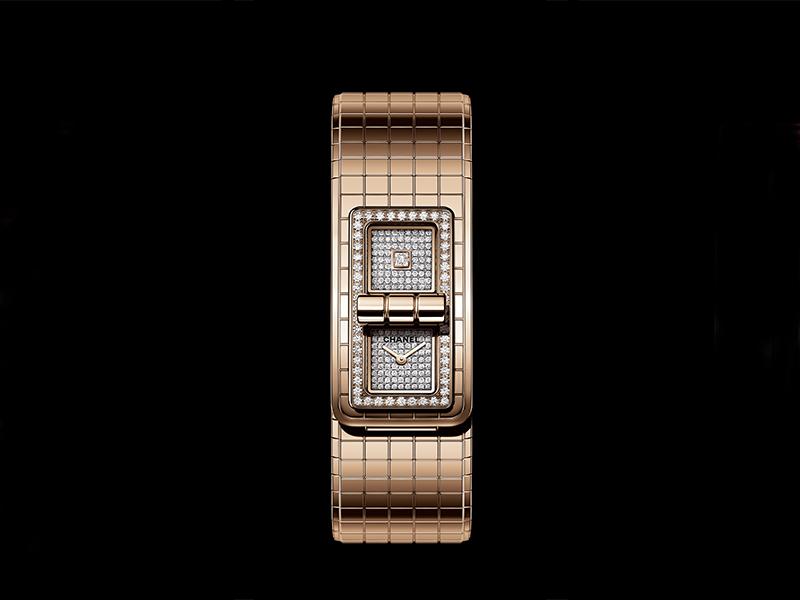 Chanel - Code Coco en or beige