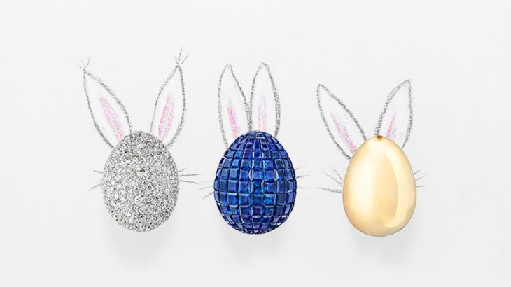 Exciting egg hunt with Fabergé's playful jewelry pieces!
