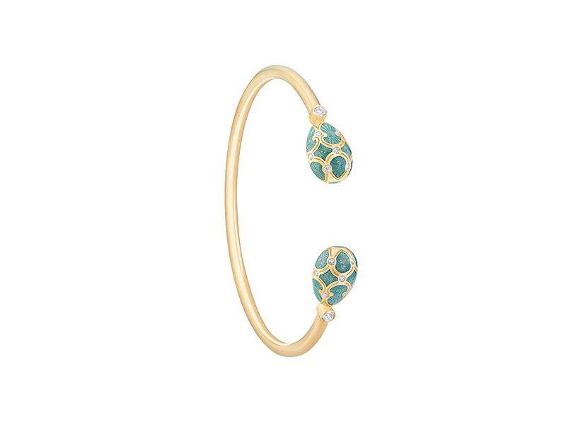 Fabergé - Palais Tsarskoye Selo Turquoise Open-Set Bangle