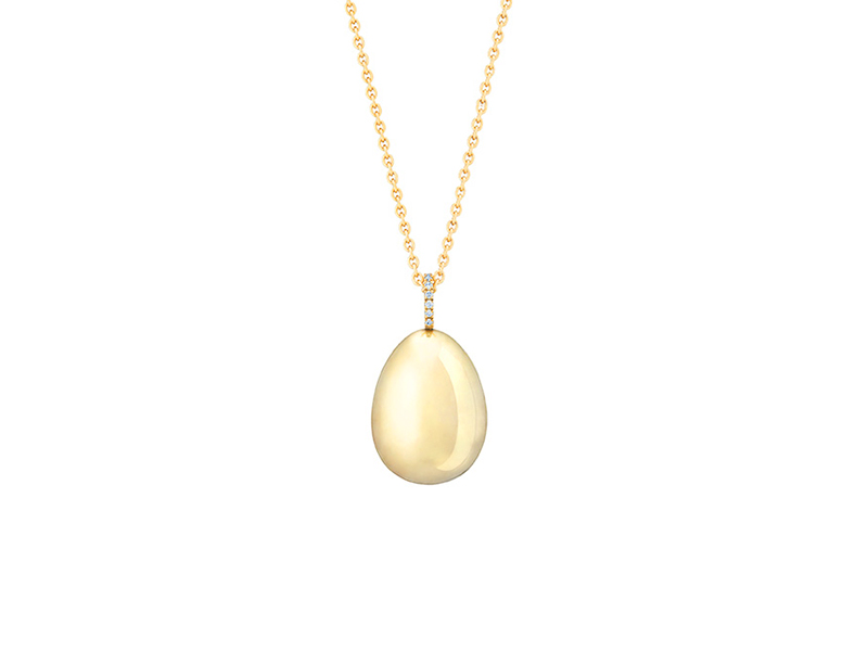 Fabergé - Simple Yellow Gold Pendant available online on the eye of jewelry store