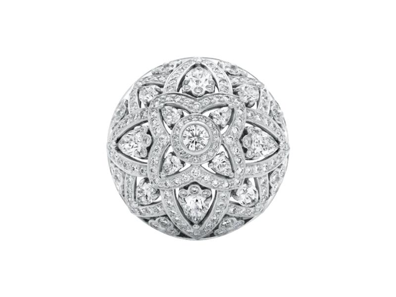 harry Winston - Bague en diamant lotus