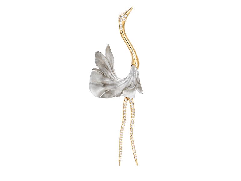 Ole Lynggaard - Cranes Earring