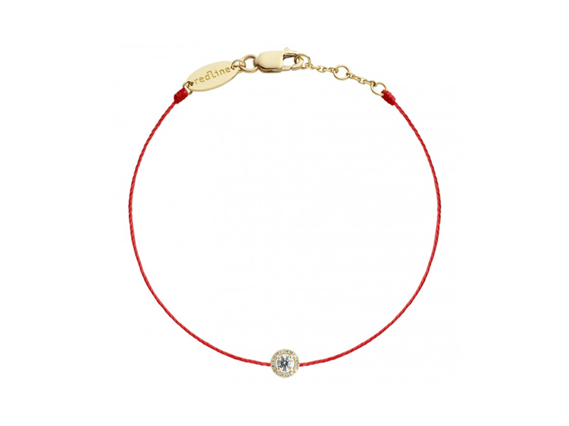 Red Line - Bracelet Joli Rêve en or jaune et diamants