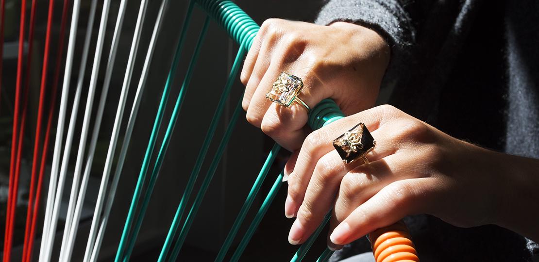 Poulpo Rings By Alexia Demblum