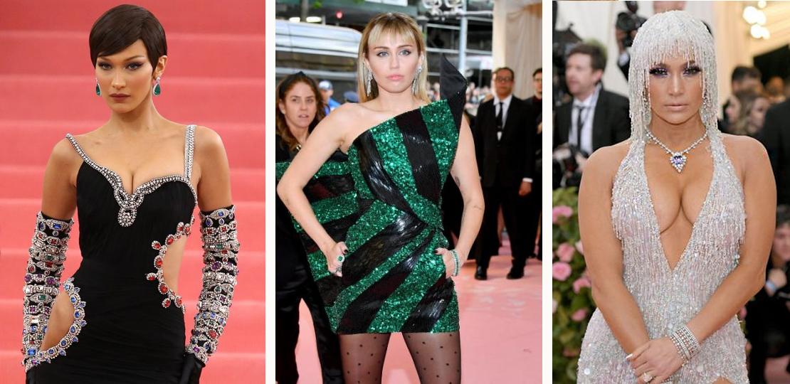 Met Gala 2019 Bella Hadid, Miley Cyrus and Jennifer lopez