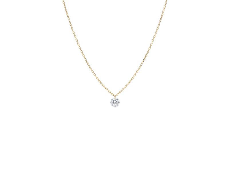 """Persée Paris - Collier """"Danaé"""" un diamant"""