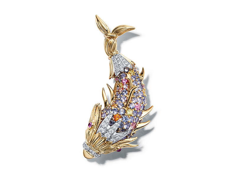 Tiffany & Co Broche Clip Poisson Tiffany & Co Schlumberger