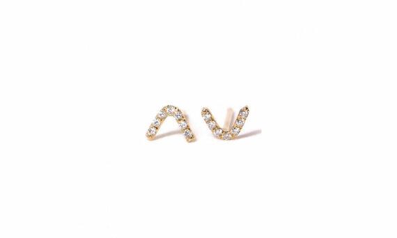 Les Rêveries d'Eve V Diamond Studs