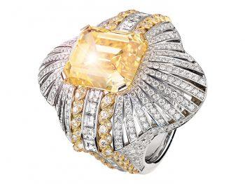 Haute Joaillerie : le retour en force du diamant jaune
