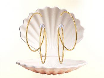 Coup d'œil sur les boucles d'oreilles néo-futuristes de TASAKI
