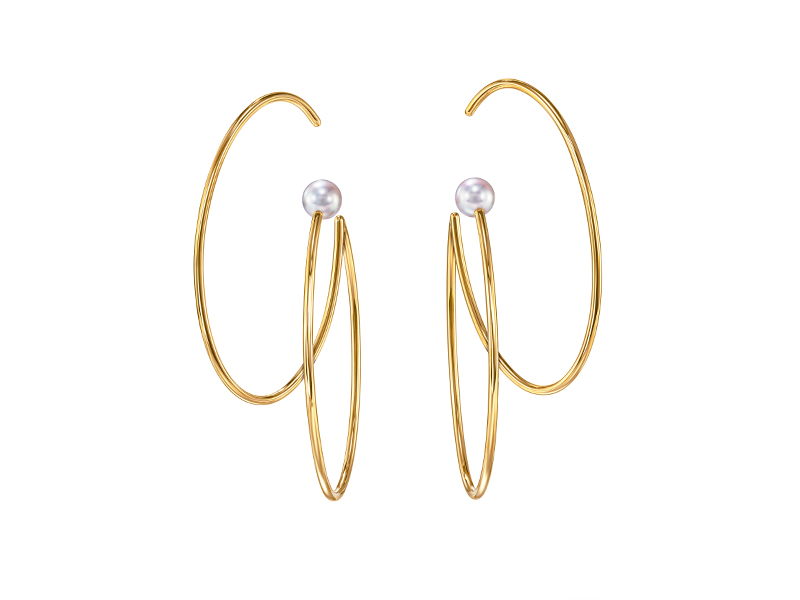 TASAKI - Nacreaous earrings