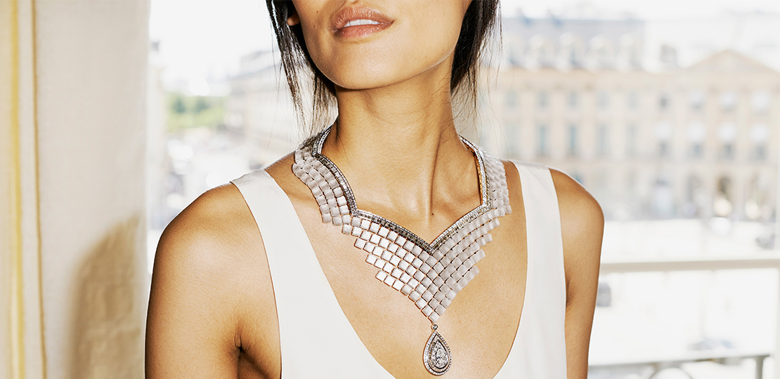 Boucheron Collier crystal