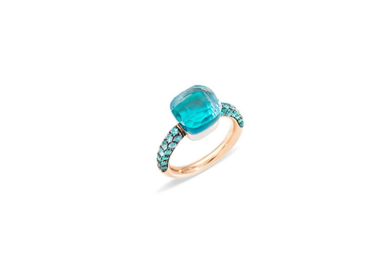 Pomellato - Bague Nudo Deep Blue