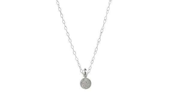 De Jaegher Moonlight necklace sterling silver diamonds
