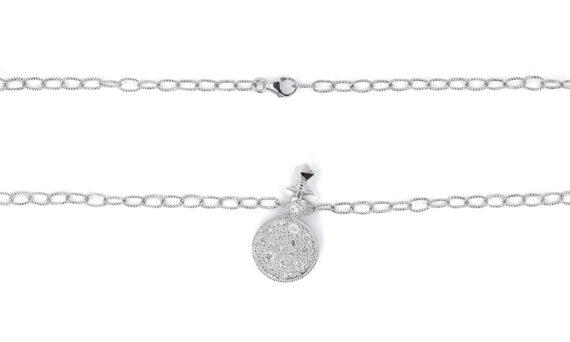 De Jaegher Moonlight necklace sterling silver diamonds 3