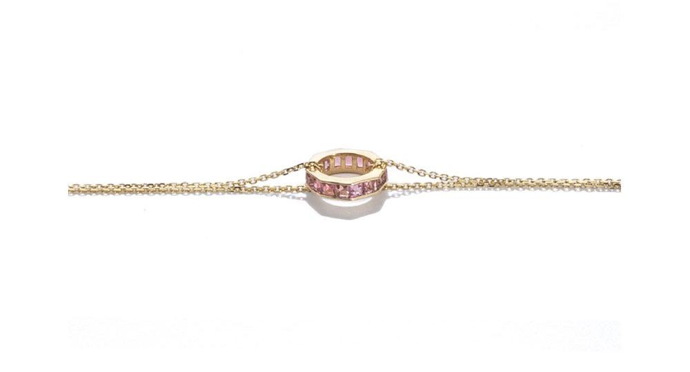Otto bracelet pink