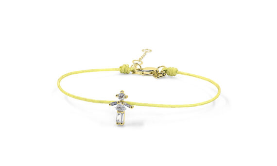 Little One Thread bracelet yellow