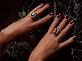 The piece of jewelry of the day: the Athina ring by Nomad Jewels
