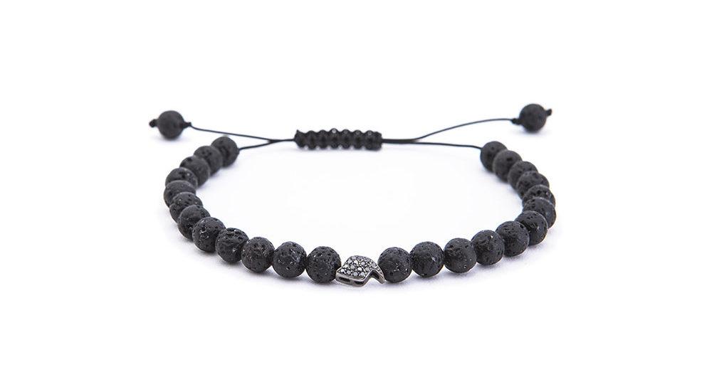 Mini Youd Talisman lava bracelet
