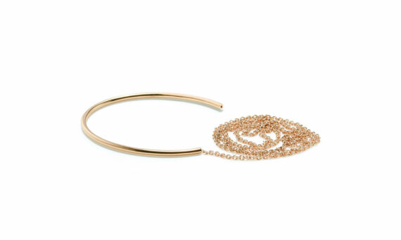 Sandrine de Laage Freedom bracelet yellow gold