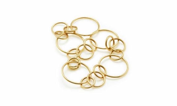 Sandrine de Laage Magical bracelet yellow gold