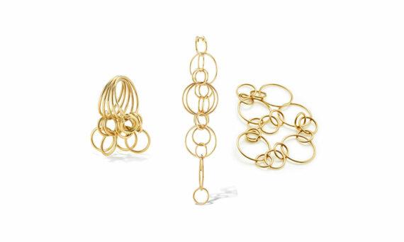 Magical ring, bracelet, one earring