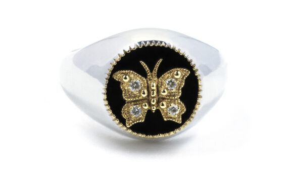 Bague Butterfly kisses