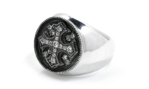 De Jaegher Heaven CW ring sterling silver 2