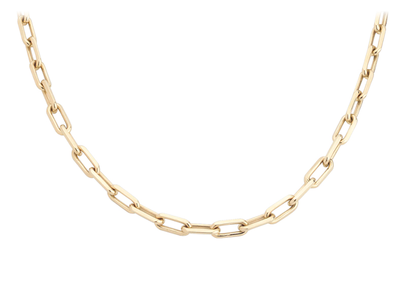Cartier - Santos de Cartier necklace mounted on yellow gold