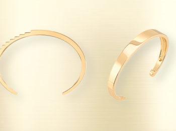 L'objet du désir : les lignes ciselées du bracelet Malaparte de Canaglia