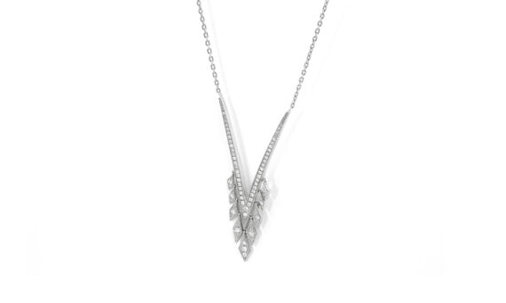 De Jaegher Sexylilicious necklace sterling silver diamonds 2