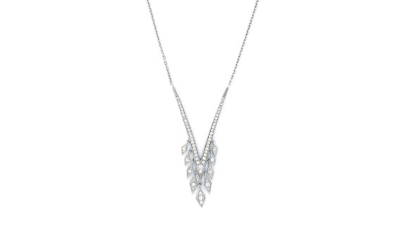 De Jaegher Sexylilicious necklace sterling silver diamonds