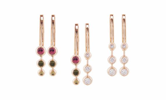 Marie Mas Dancing Diamond Earrings S