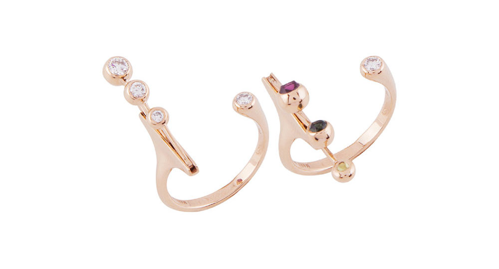 Dancing Diamond Open Ring S
