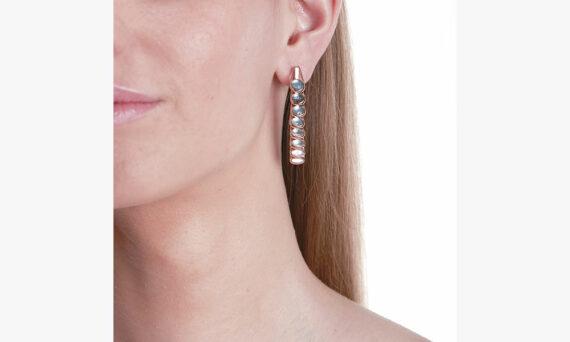Marie Mas Dancing Earrings Lifestyle Topaz