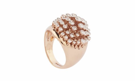 Marie Mas King Wave Diamond ring 1