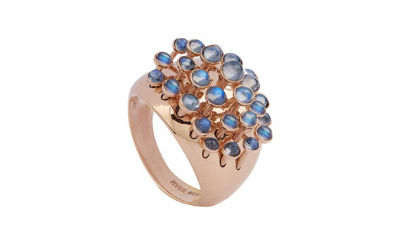 Marie Mas Moonstone King Wave Ring 1