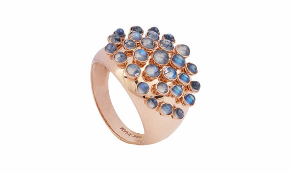 Marie Mas Moonstone King Wave Ring 2