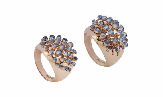 Marie Mas Moonstone King Wave Ring 3