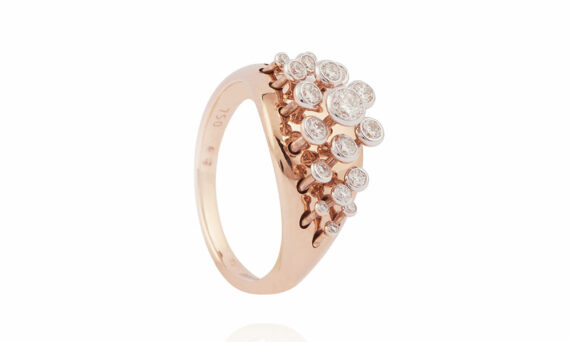Marie Mas Queen Wave Diamond Ring 1