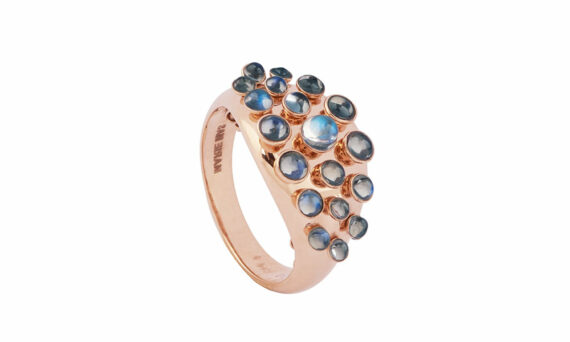 Marie Mas Moonlight Queen wave ring 2
