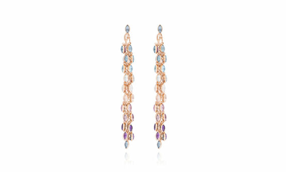 Marie Mas Swinging Earrings topaz amethyst 2