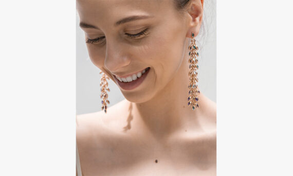 Marie Mas Swinging Earrings Lifestyle
