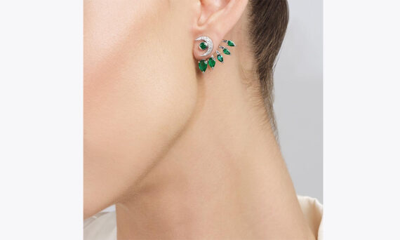 Tabayer Vision Earrings porte