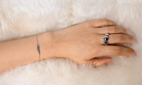 Bonnet Géa Feu ring bracelet