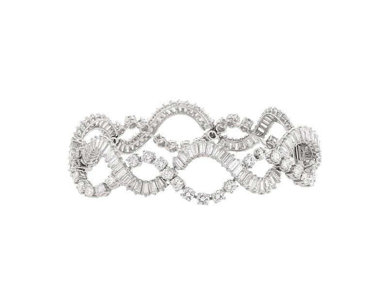 Un bracelet «entrelacs» des années 1950