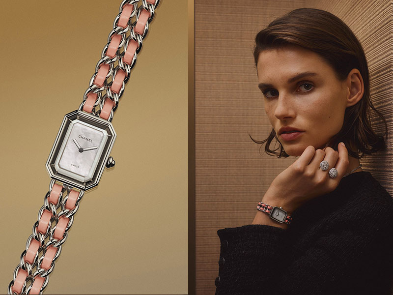 Chanel - Montre Premiere Pink Blossom