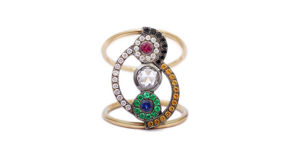 Sonia Rainbow Ring